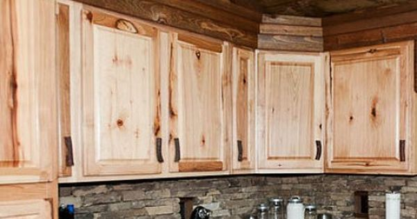 Knotty Hickory Or Pine Cabinets In The Kitchen Maybe Rock