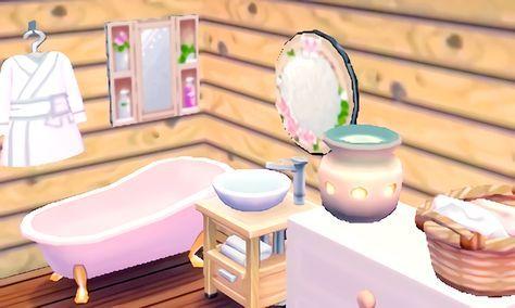 Diana S Relaxing Bathroom Animal Crossing 3ds Animal Crossing Animal Crossing Game