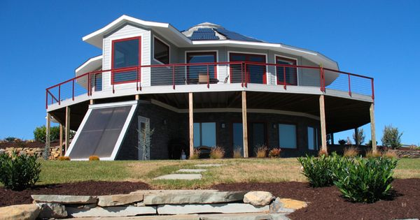 This is gorgeous prefab round home builder deltec homes for Home designs unlimited llc