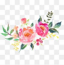 Image Result For Watercolor Flowers Png Flower Png Images Watercolor Flowers Free Watercolor Flowers