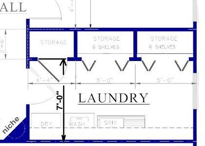 Laundry Room Design Plans