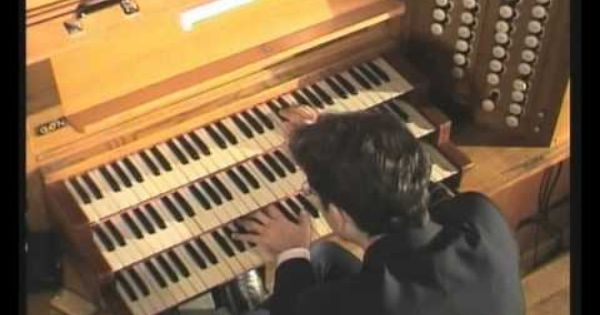 Cesar Franck Cantabile Vincent Dubois In Concert Soissons Cathedrale Organ Music Cesar No One Loves Me