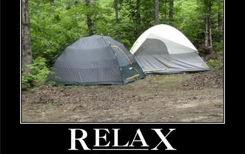 Relax...you're two tents | Just for Fun | Pinterest ...