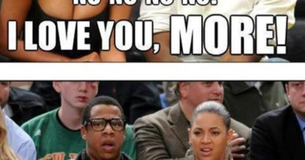 lolzzz.. Jay Z and Beyonce are truly a couple in love!