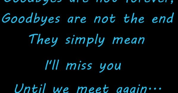 I Ll Miss You Quotes — Love Quotes Image | Quotes at ...