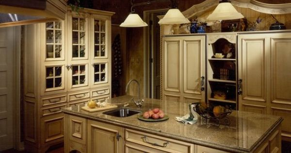 Custom Made Furniturizing A French Country Kitchen Remodel Kitchen