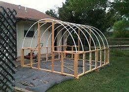 Diy Hoop House Greenhouse Plans Greenhouse Gardening Diy