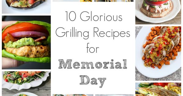 recipes for a memorial day cookout