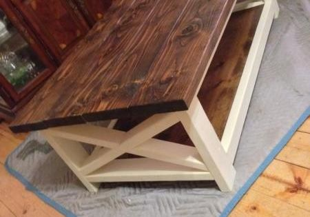 This is the coffe table!!! Rustic Coffee Table Success! | Do It Yourself Home Projects from Ana White DIY $85