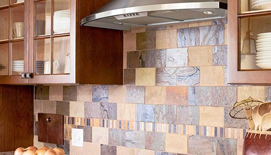 Stunning Slate backsplash ideas