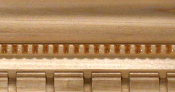 Wood Crown Molding And Hyannis Dentil Crown Molding Derevo