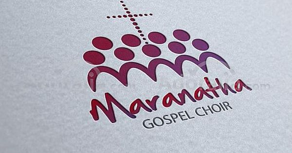 maranatha gospel choir logo logo iglesia pinterest