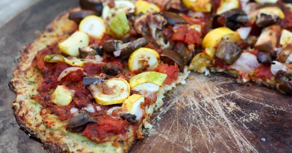cauliflower pizza crust. So healthy super healthy eating health care health guide
