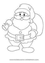 Babbo Natale Da Colorare Colori Di Natale Ricamo Natalizio E