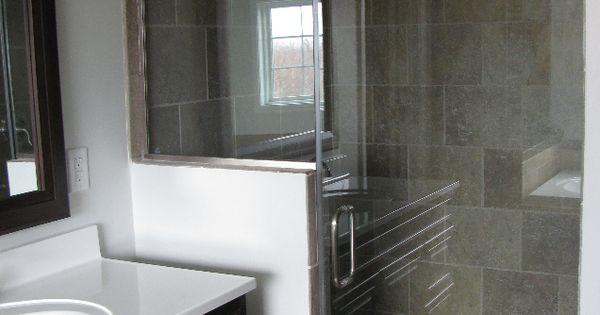 this bathroom remodel features mohawk u0026 39 s sahara stone cairo