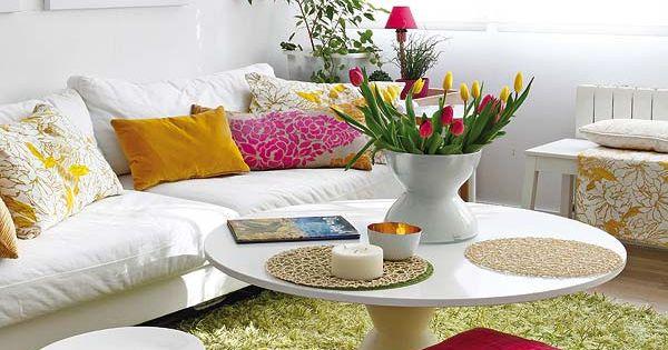 Living room interiors pinterest dulce hogar el sol - Como mantener la casa limpia y perfumada ...
