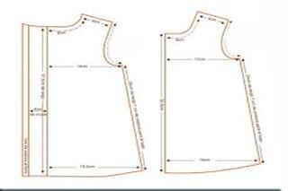 Patrón De Vestido Básico Talla 3 A 10 Patrón Vestido Bebe Patron Vestido Niña Vestidos Para Bebés