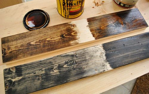 What S The Method Of A Rustic Wood Stain Technique By