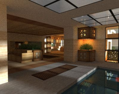 I Love Interior Renders Minecraft Furniture Minecraft Houses Modern Minecraft Houses