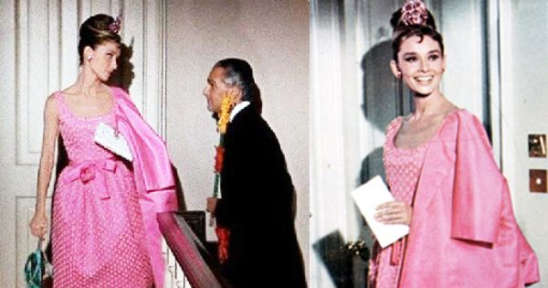 Audrey Hepburn S Little Pink Dress Classic Style Icons
