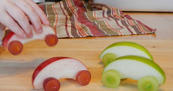 Diy fruit cars. Kids snacks. Healthy kids food. School. Kids parties. Play