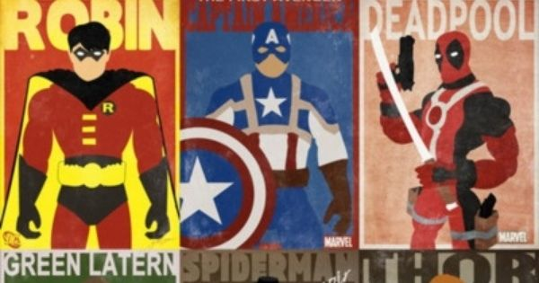 comic book poster designs