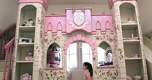 princess room decorations ideas | Girls Room That Looks Like a Fairytale
