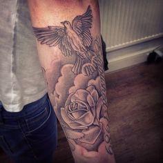 Cloud Tattoo Sleeve On Pinterest Cloud Tattoos Sun Rays Tattoo And Cloud Tattoo Cloud Tattoo Sleeve Sleeve Tattoos
