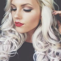 Makeup Colors For Blondes With Blue Eyes Stylechum Makeup For Blondes Blonde With Blue Eyes Hair Makeup