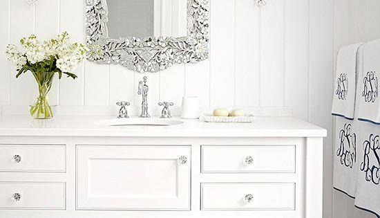 Image Result For Pottery Barn Style Bathroom Vanitya