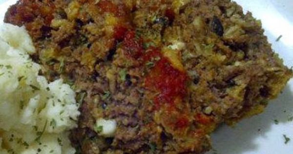 Mediterranean Meatloaf | Beef | Pinterest | Kitchen Witch, Witches and ...