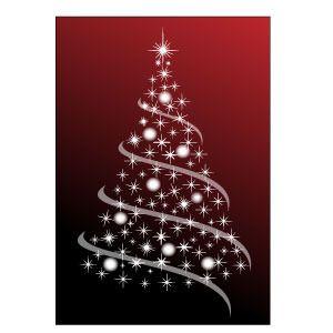 Free Christmas Tree Abstract Vector Freevectors Net Christmas Svg Files Free Christmas Svg Files Silhouette Christmas