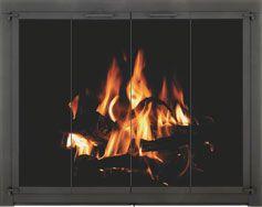 Home Fireplace Glass Doors Glass Fireplace Fireplace Doors