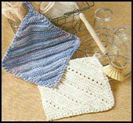 Comment Tricoter Des Lavettes A Vaisselle Torchon Tricote Tricot Et Crochet Modeles De Tricot Torchon