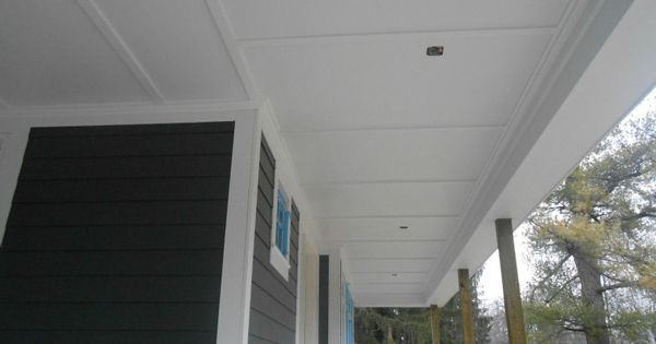 James Hardie Smooth Panel W Batten Strips Porch Ceilings Pinterest James Hardie Batten