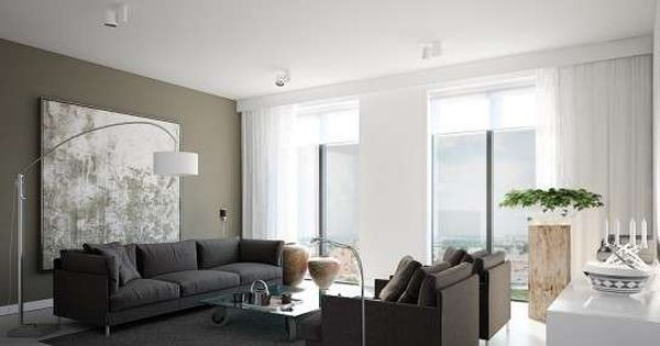 Combinaci n de muebles y paredes fotos de dise os sal n - Combinacion de colores para salon ...