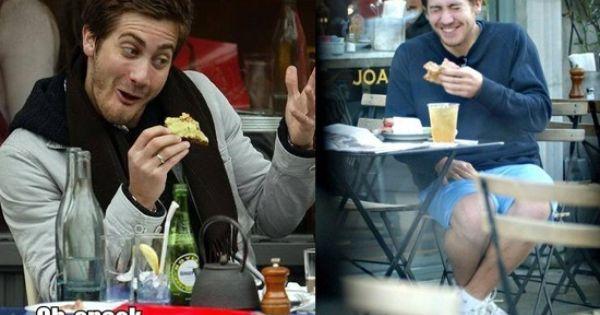 Kirsten Dunst And Jake Gyllenhaal Eating Jake Gyllenhaal ...