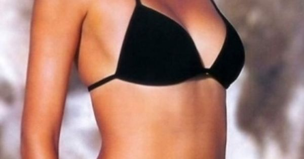 bikini babe in a black bikini hottest babe ever until she smiles