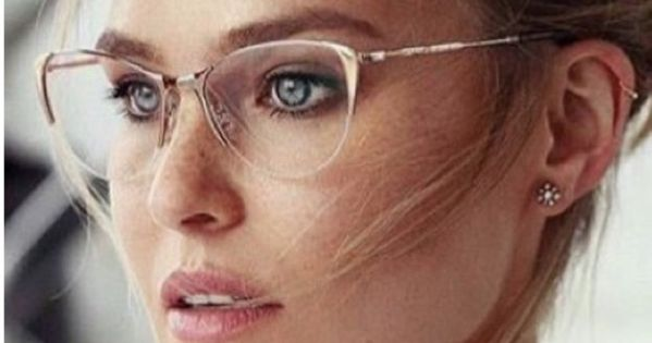 Rimless Glasses More Attractive : USD50 Cool Cute Original Alternative On Trend Clear Rimless ...