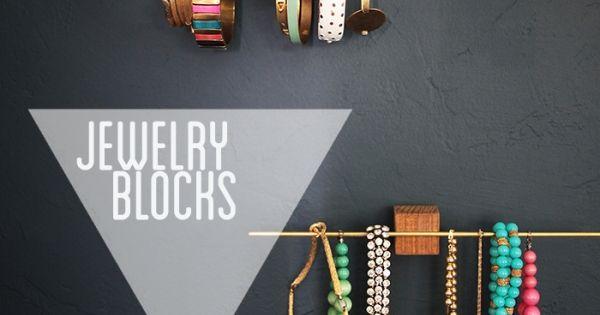 Diy le plus l gant des porte bijoux bijoux chic et - Creer des bijoux soi meme ...