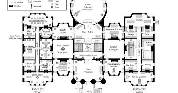 Highdark Hall Ground Floor House Ideas amp Plans
