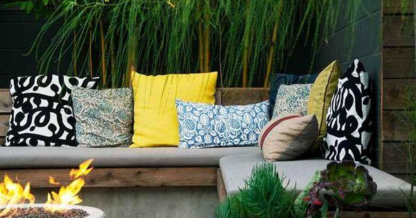 Chemin es ext rieures id es pour jardin terrasse et balcon chemin es d 39 ext rieur jardin - Idees terrasses exterieures ...