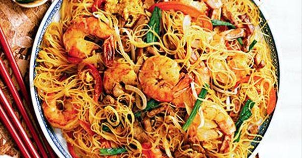 Nouilles Singapour Vermicelli Recipes Singapore Street Noodles Recipe Singapore Noodles