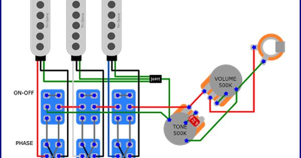 Brian May S Red Special Wiring Diagram Brian May Red Special