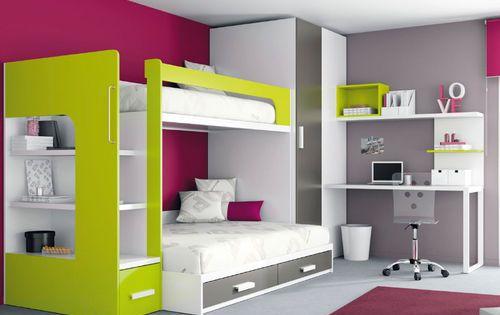 kinder hochbett junge und m dchen kids up 2 72 archiexpo kinderzimmer cool pinterest. Black Bedroom Furniture Sets. Home Design Ideas