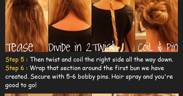 Twisted Low Bun Hair Tutorial | Long Hair Styles How To