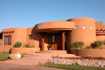 Adobe House Design Ideas Pictures Remodel And Decor Adobe House Pueblo House Natural Building