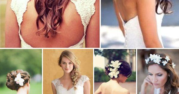 Penteados com flores para noivas – Galeria de Sexta   Clube Noivas