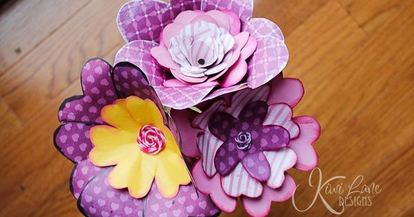 Weekend Whimsy project—a bouquet of beautiful flowers to bright up anyone's day.