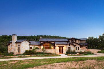 Hill Country Custom Home Rustic Exterior Austin Dawn Hearn